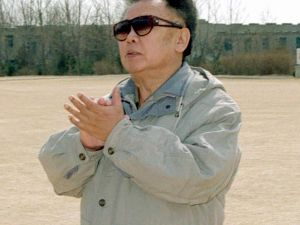 Kim Jong Il is dead but we're sure he approves of the message. (Getty Images)