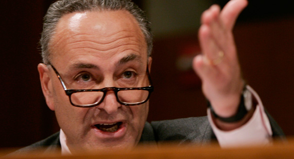Chuck Schumer Vows To Defeat 'These Hard Right, Nasty People'