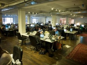 The Code and Theory offices (Photo courtesy of Design Array)