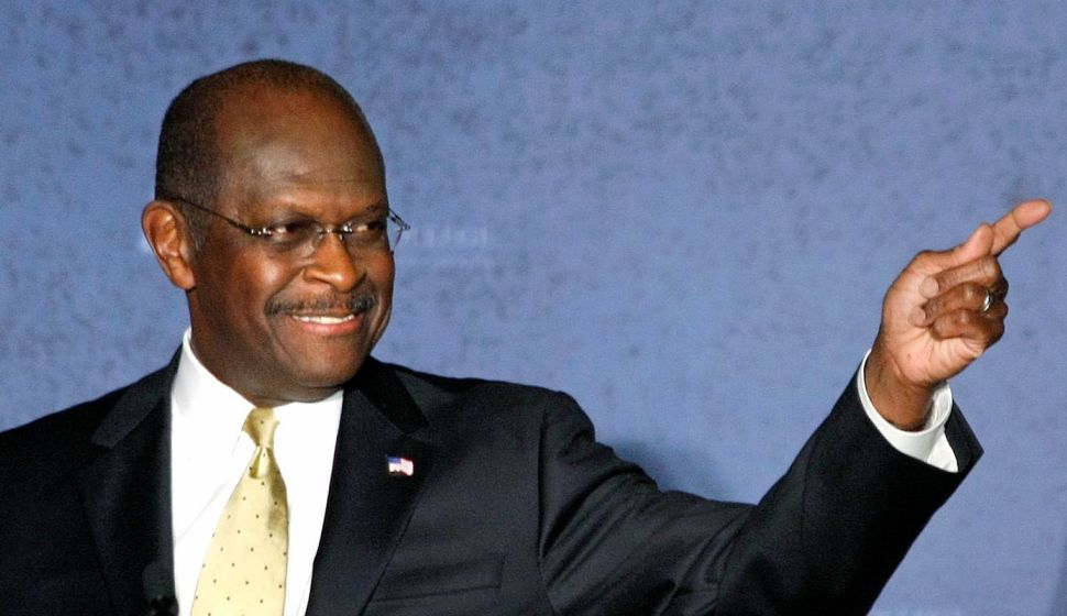 Herman Cain Does The Math: 'We Outnumber The Stupid People'