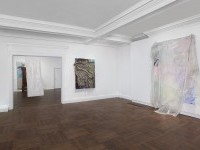An installation view of David Hammons' show at L&M Arts. (Courtesy the artist and L&M)