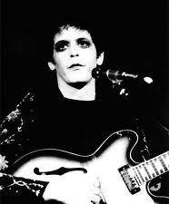 Lou Reed's Transformer album cover shot by Mick Rock.