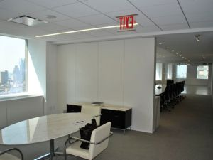 An actual view of what will someday be Y&R's offices—we got a tour.