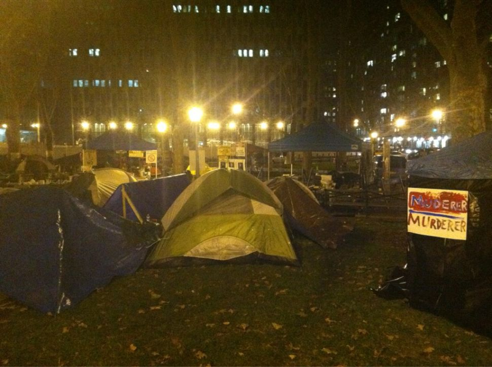 Occupy 'Law & Order': One Blogger's Call to Set Up Protest in Fake Zuccotti