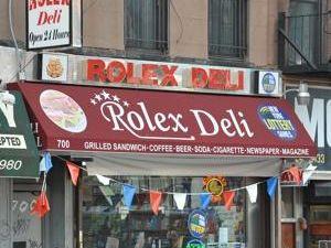 Rolex Deli (New York Post)