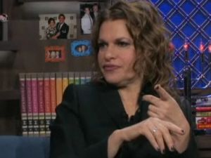 "Sandra Bernhard on ""Watch What Happens Live"""