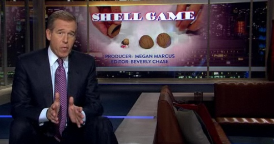 Brian Williams, Journalist, Interviews Marcel the Shell With Shoes On (Video)