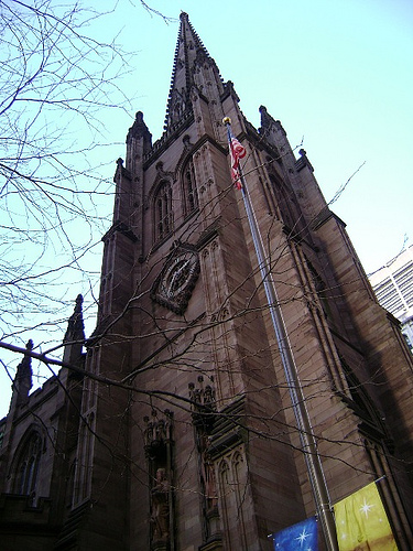 Occupiers Start to Uncover the Unhidden Truth About Trinity Church and Duarte Square