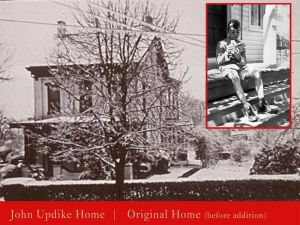 The house as Updike knew it.