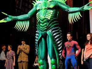 Ishioka's costume for the Green Goblin (Getty Images)