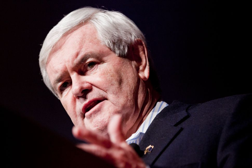 Newt Gingrich Claims Donald Trump Created a Model for Republicans to Take New York