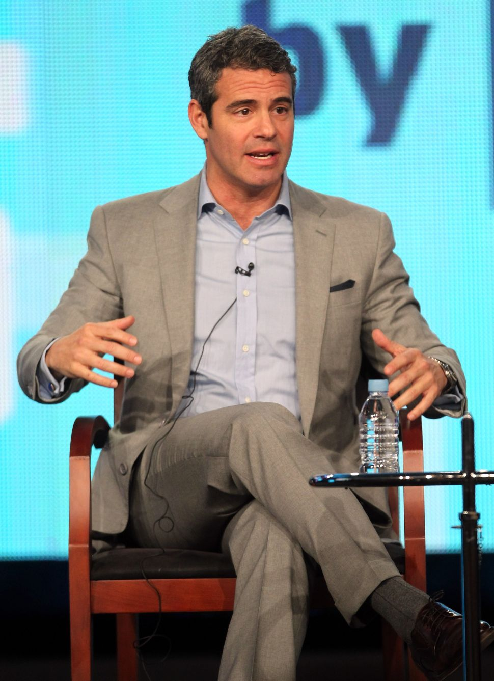 Lunching with Pop Culture's Most Talkative Author Andy Cohen