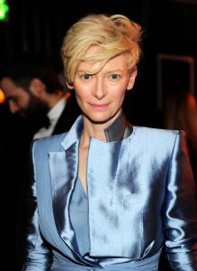 Tilda Swinton, we need to talk. (Getty Images)