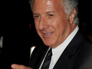 Dustin Hoffman at the 'Luck' premiere (Getty Images)