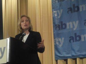 Senator Kirsten Gillibrand (Photo: Hunter Walker)
