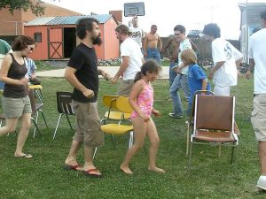 Compete in the hardest game of all: Musical chairs! (Wikipedia)