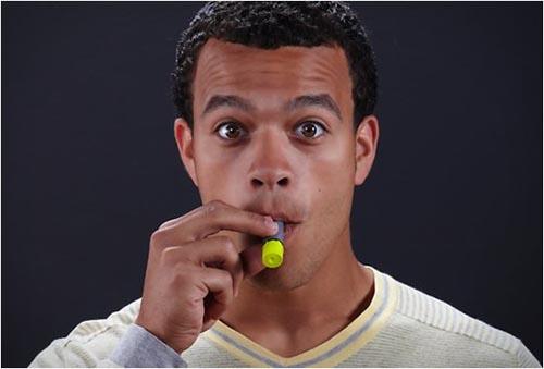 Workin' With a Heart Attack-Ack-Ack: Liveblogging a Test Run of AeroShot Caffeine Inhalers
