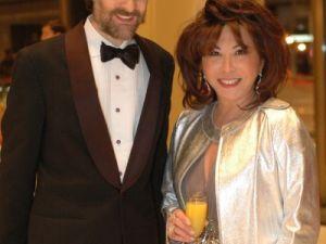 Chairman Gary Parr and Gala Co-Chairmen Lady Linda Wong Davies (Linsley Lindekins)