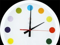 A 2009 clock by Damien Hirst.