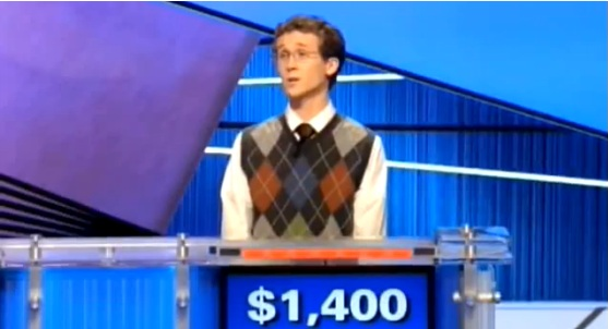 Jeopardy Contestant Answers Question with 'Donkey Punch' (Video)