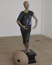 "Frank Benson ""Human Statue"" (2011)."