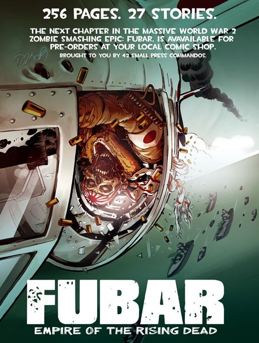 KickStarter-Funded Zombie Graphic Novel FUBAR Makes New York Times Best Seller List