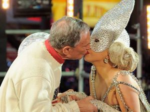 Lady Gaga and Michael Bloomberg (Photo: Getty0