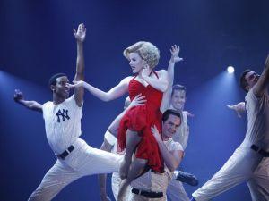 Megan Hilty as Marilyn Monroe--gorgeous, but not campy (NBC)