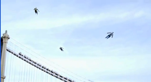Chronicle Takes Viral Marketing to the Sky with Human Planes (Video)