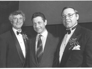 Bernard Resnick, Sheldon Silver and Steven Spinola, circa 1996.