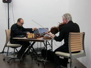 Jorge Chikiar and John King perform at Maccarone last week. Photo via: openingceremony.com