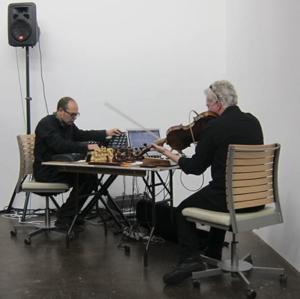 White Light, White Noise at David Lamelas's Maccarone Opening