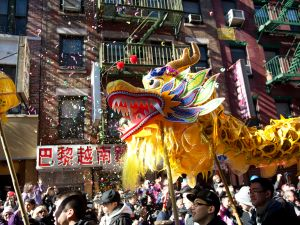 Revelers in Chinatown celebrating the Lunar New Year in 2011. (Photo: Getty Images)