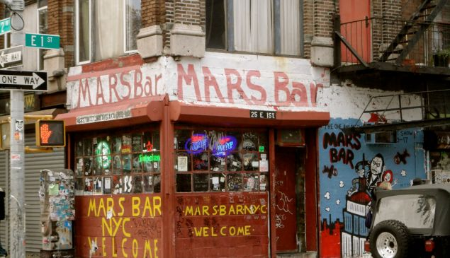 Mars Bar. (bitchcakesny/Flickr)