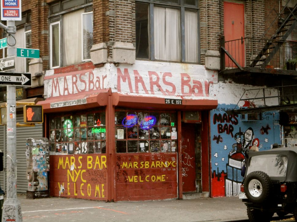 Afternoon Bulletin: Mars Bar 'Revival' Actually Just a Juice Bar and Spa