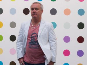 Mr. Hirst at Gagosian