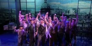 Cast of Newsies performing on The View