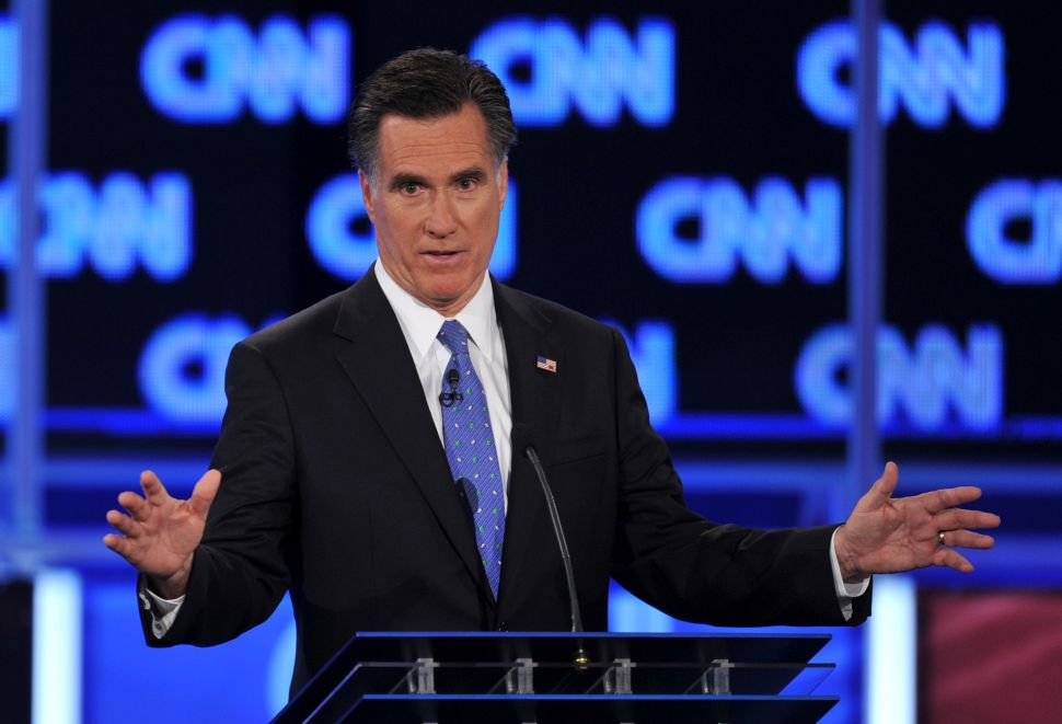 Mitt Romney Disavows His Own Ad