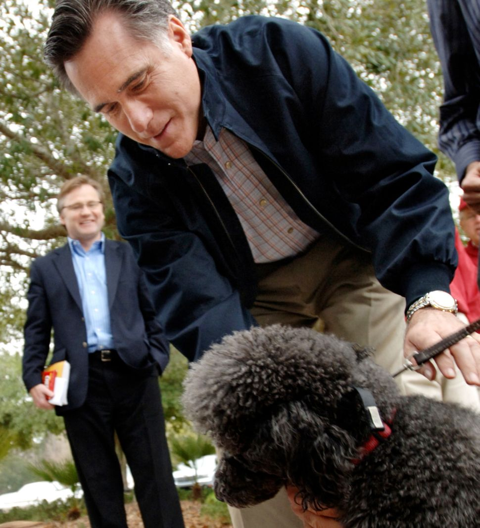 Mitt Romney: 'They Want to Talk About Dogs and I Want to Talk About Jobs'