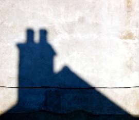 It's a shadow!
