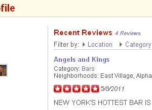 New Yorks hottest clubs now reviewed on Yelp
