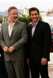 David Fincher and Jake Gyllenhaal (Getty Images)