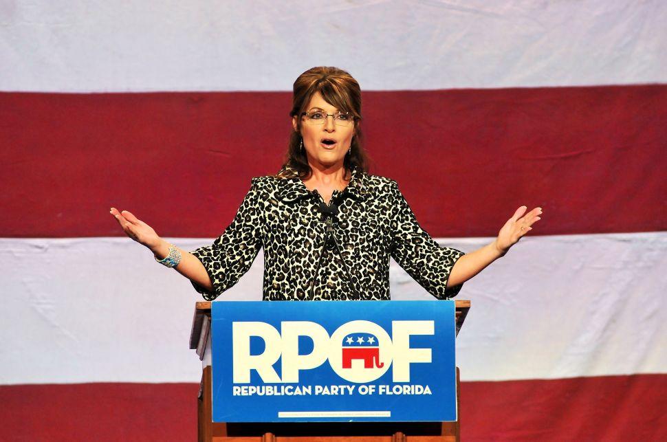 Sarah Palin Says She Won't Make Her Endorsement at CPAC