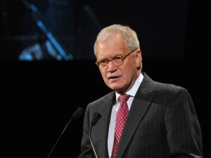 Elder statesman David Letterman (Getty Images)