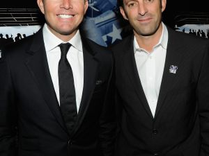 "Mike McCoy (left) and Scott Waugh, co-directors of ""Act of Valor"" (Getty Images)"
