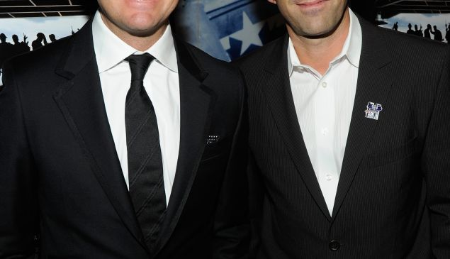 """Mike McCoy (left) and Scott Waugh, co-directors of """"Act of Valor"""" (Getty Images)"""