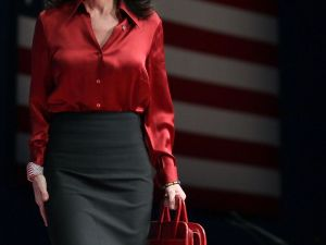 Sarah Palin at this year's CPAC (Getty Images)