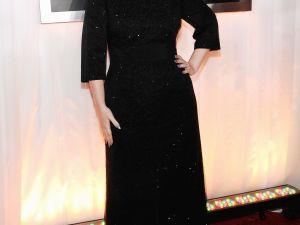 Adele at tonight's Grammys (Getty Images)