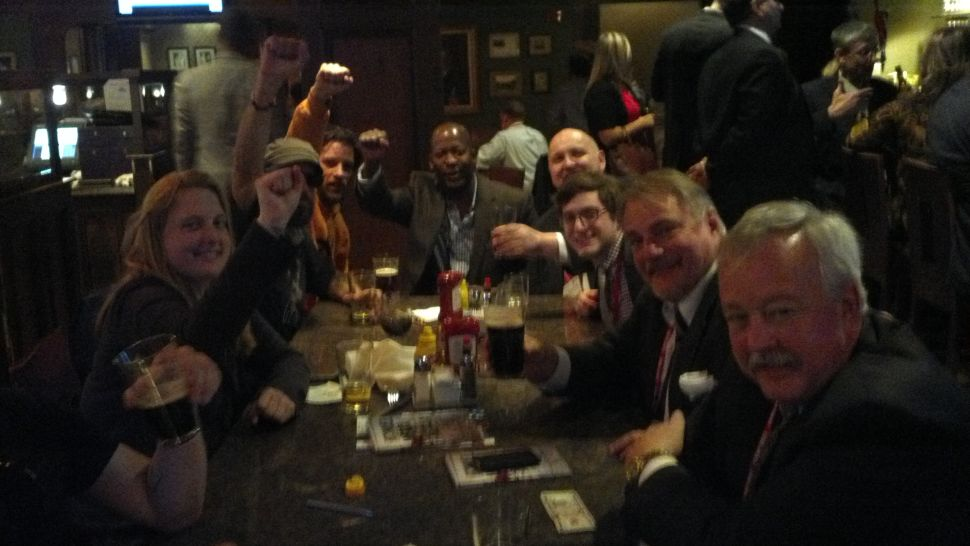 Occupiers And Tea Partiers Share Drinks At CPAC