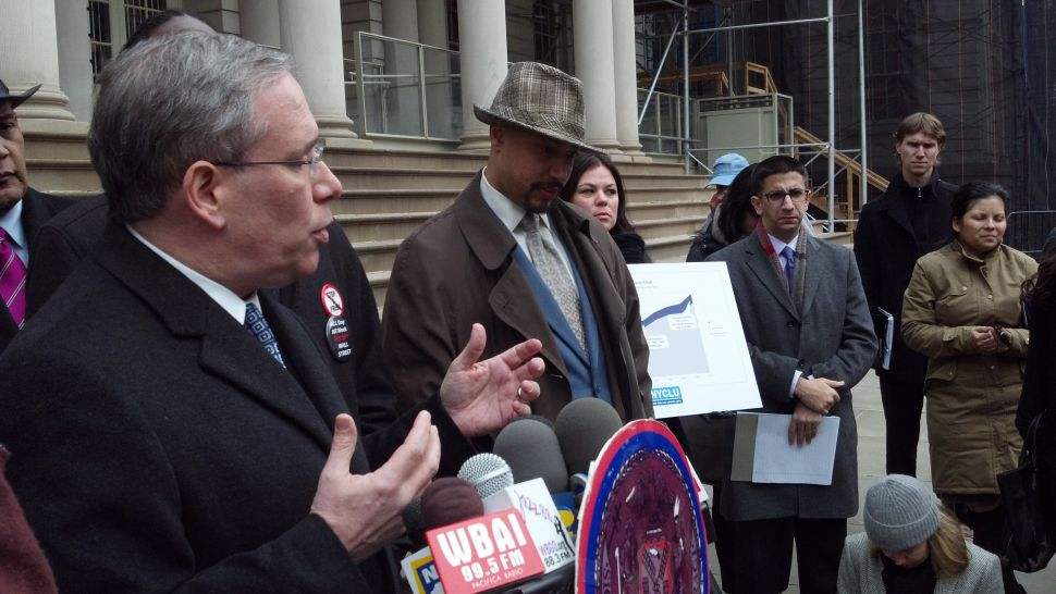 Scott Stringer And Jumaane Williams Call For NYPD To Reform Stop And Frisk